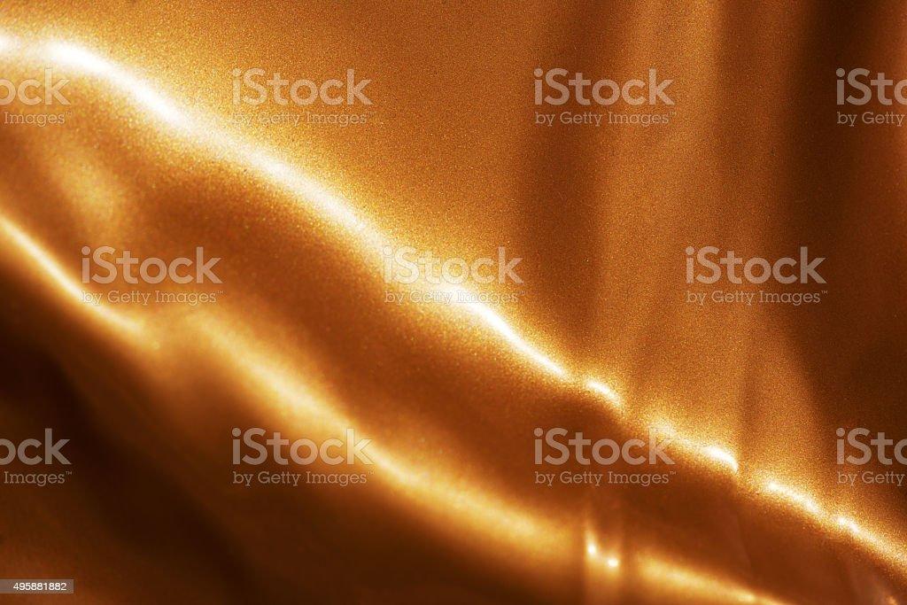 shiny golden textile stock photo