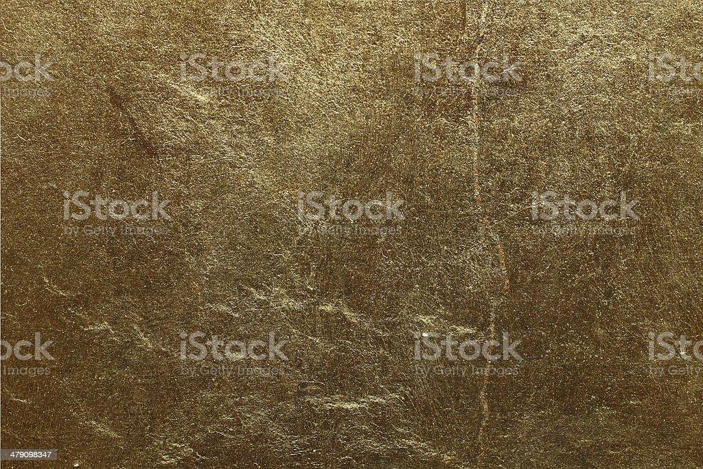 Shiny goldleaf texture stock photo