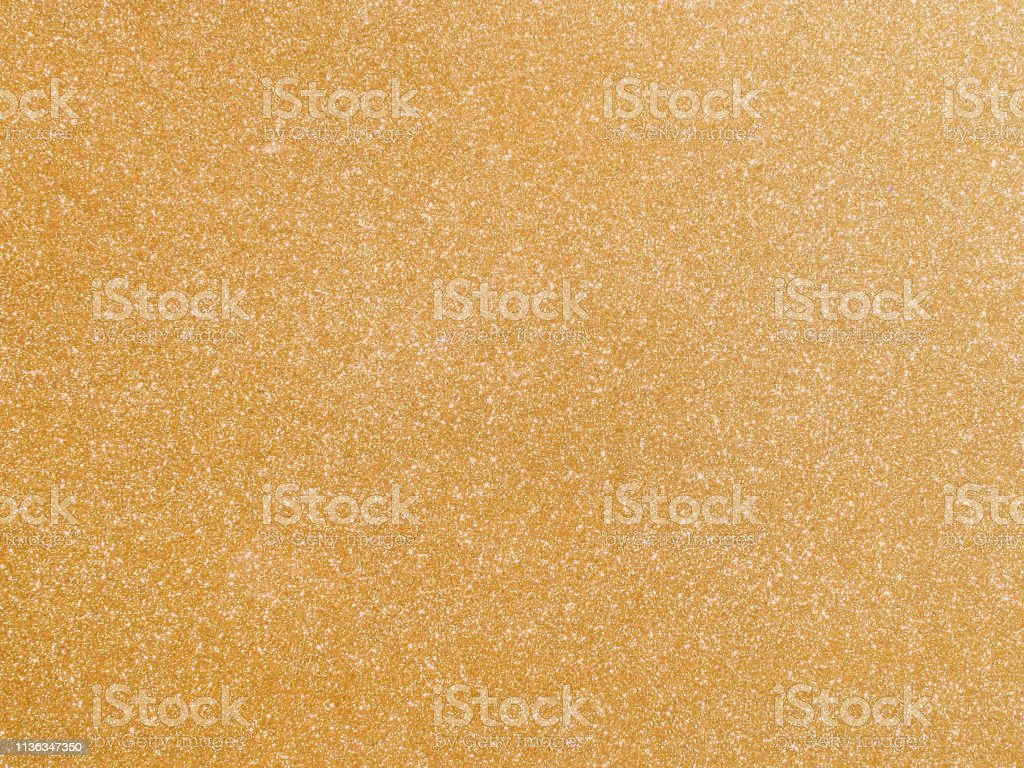 Shiny Hot Yellow Gold Foil Golden Color Glitter Decorative