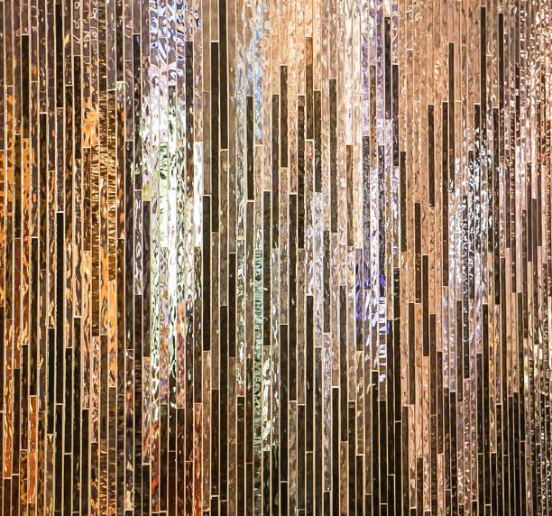 Shiny Iridescent Tiles stock photo