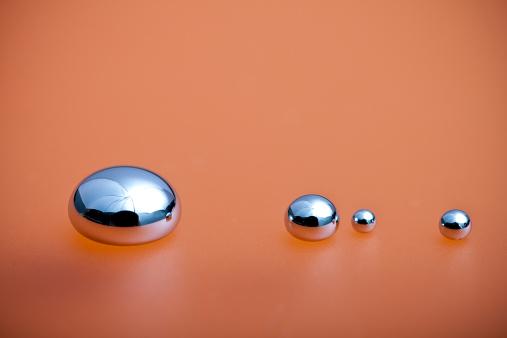Shiny Mercury Stock Photo - Download Image Now