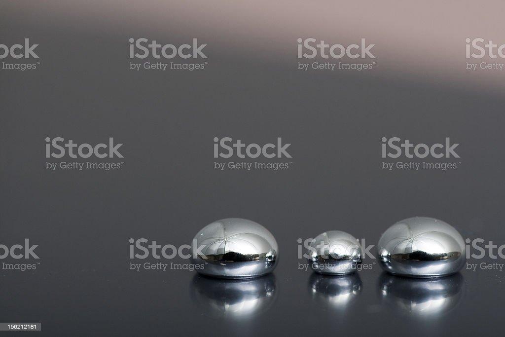 Brillante mercurio - Foto de stock de Acero libre de derechos