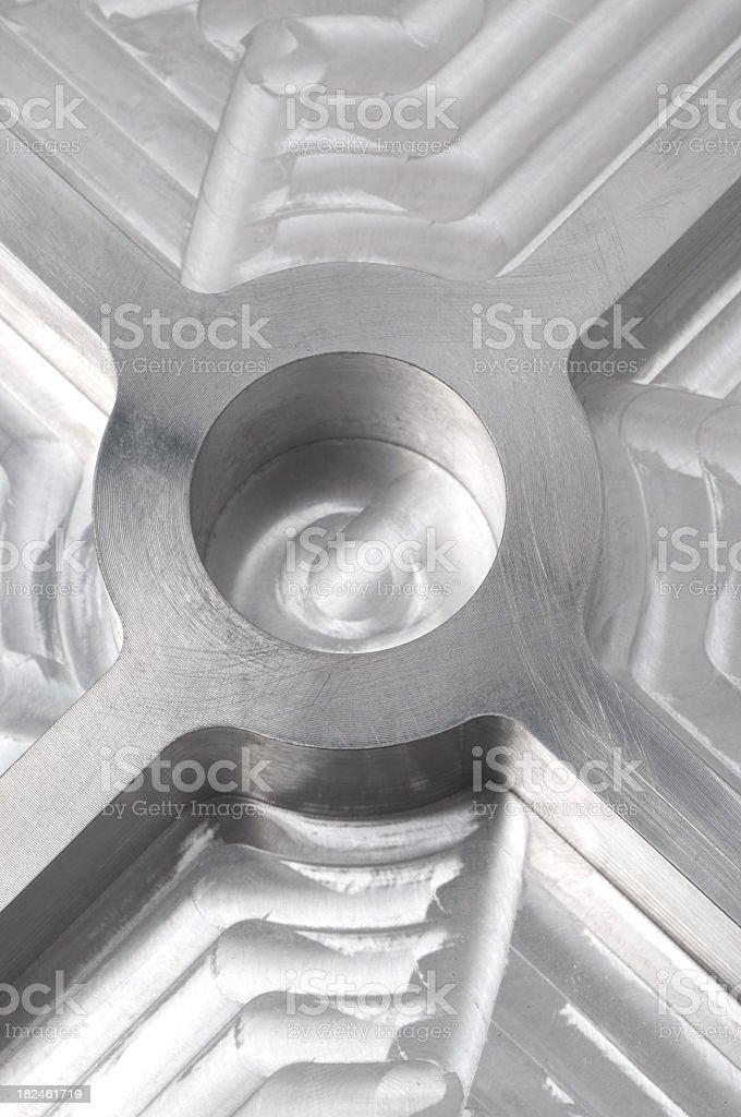 Shiny metal background royalty-free stock photo
