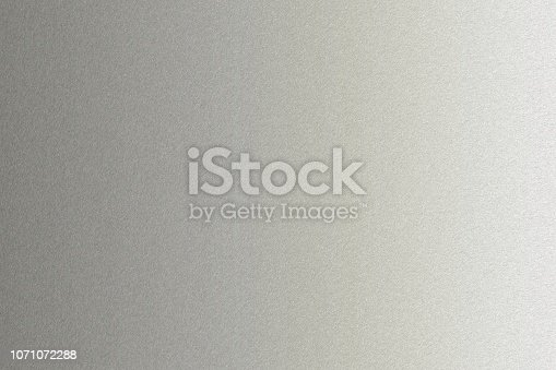 istock Shiny old white aluminium wall texture background 1071072288