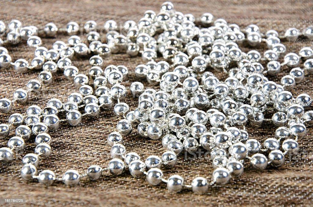 Shiny pearls royalty-free stock photo