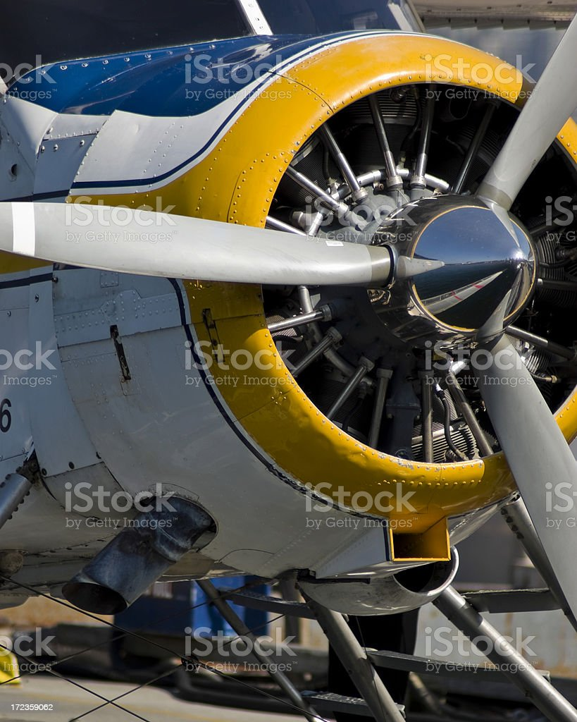 shiny propeller royalty-free stock photo