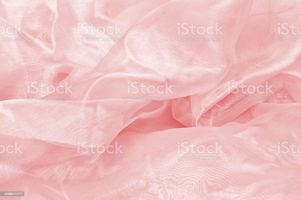 shiny red satin fabric background stock photo