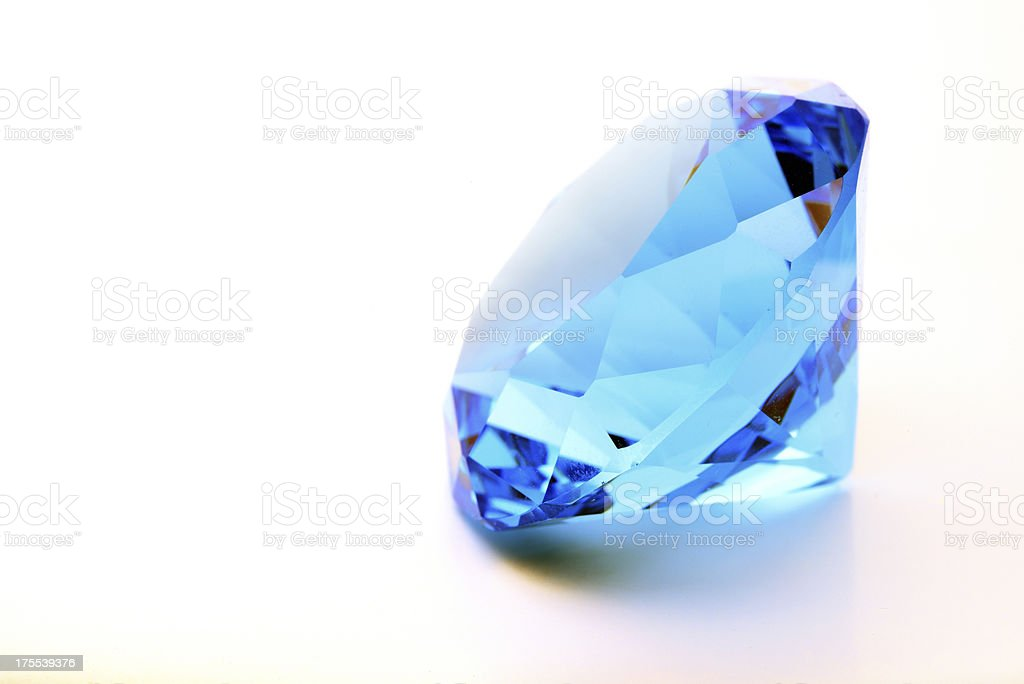 Shiny Sapphire royalty-free stock photo
