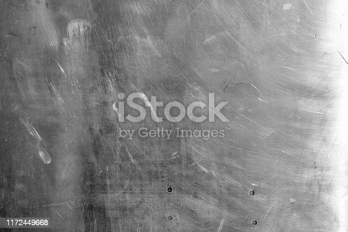 542685294istockphoto Shiny scratched metal surface texture background 1172449668