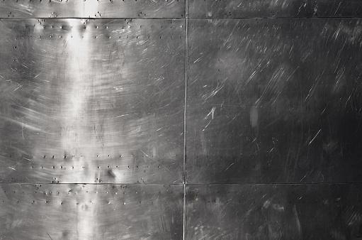 Shiny Silver Aluminum Sheet Metal Stock Photo Download