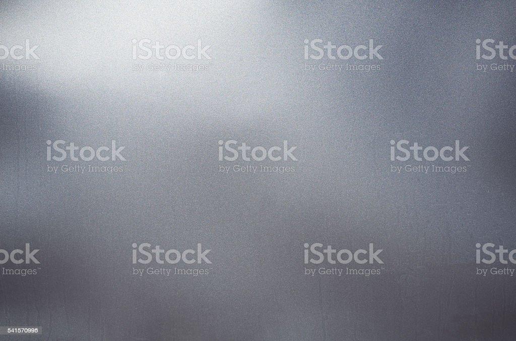 Gris argent brillant noir grunge mur feuille de fond texturé - Photo