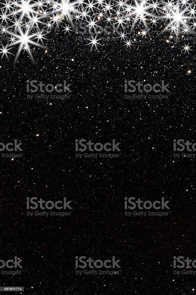 Shiny Stars stock photo