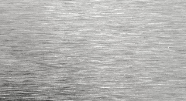 shiny steel texture - steel stock photos and pictures