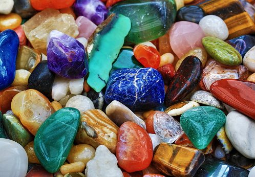 Shiny Stones Stock Photo - Download Image Now