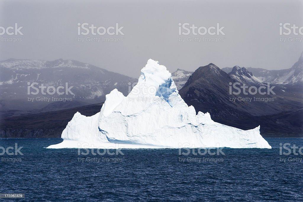 Shiny White Iceberg royalty-free stock photo