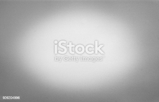 istock Shiny white metal texture, dotted silver background 926204996