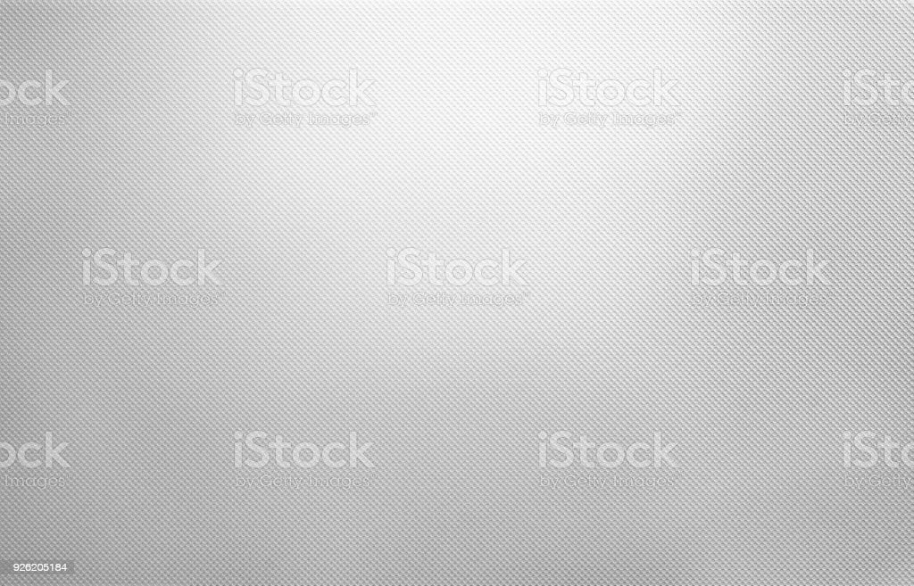 Shiny white metal texture, dotted silver background
