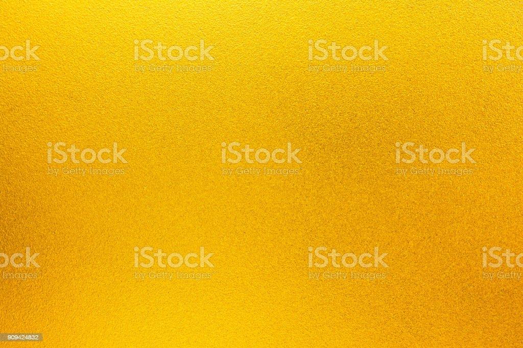 Shiny yellow gold texture background stock photo