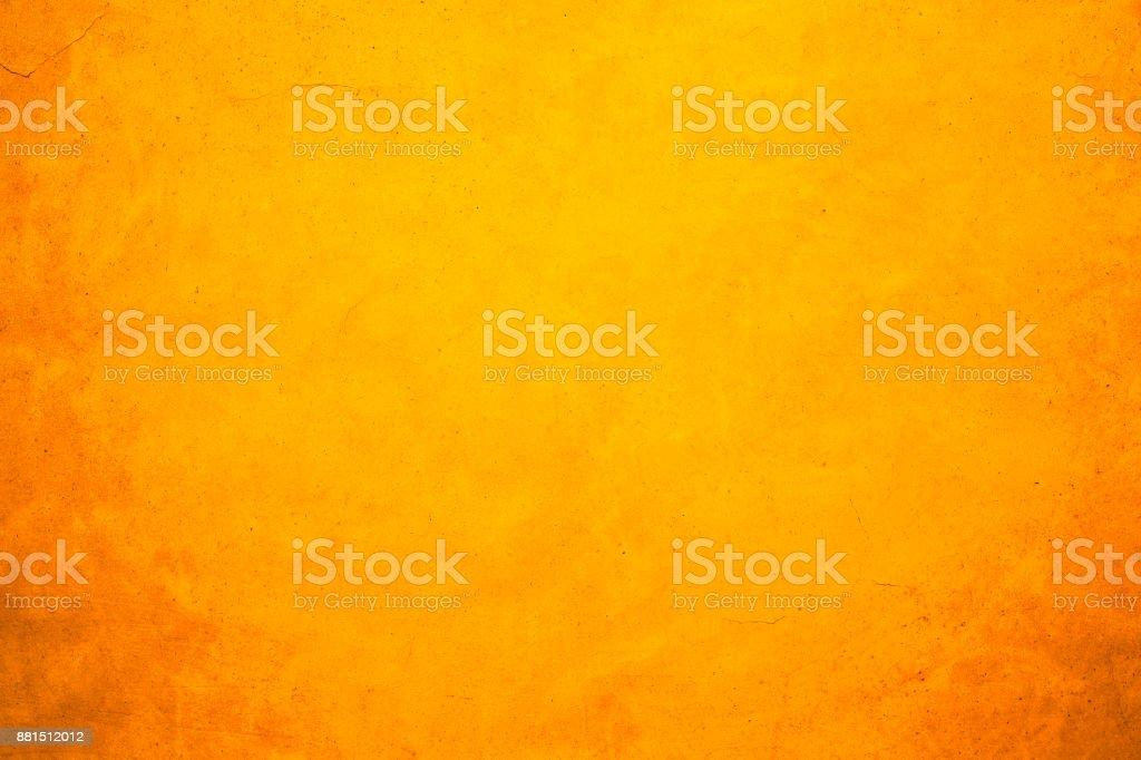 Shiny yellow gold wall texture background stock photo
