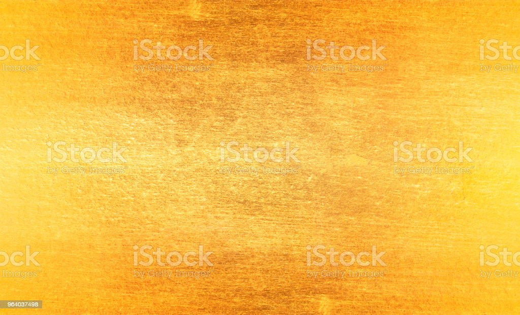 Shiny yellow leaf gold - Royalty-free Abstract Stock Photo