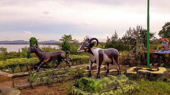 Shio Ox, Horse - 12 Kinds of Shio, symbolizes Chinese animals.