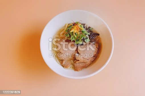 Ramen Noodle with Salt Flavored Soup