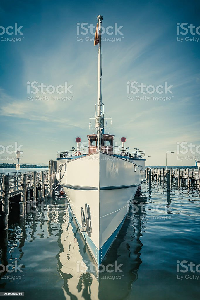 ship Ammersee stock photo
