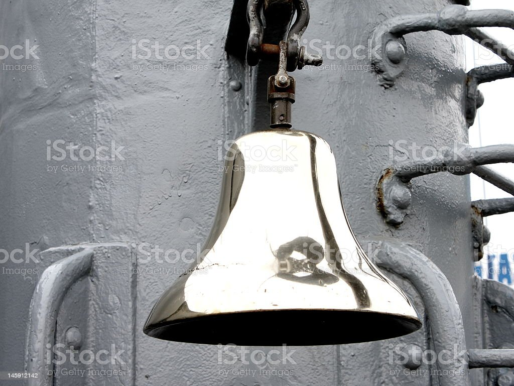 Ship bell royalty-free stock photo