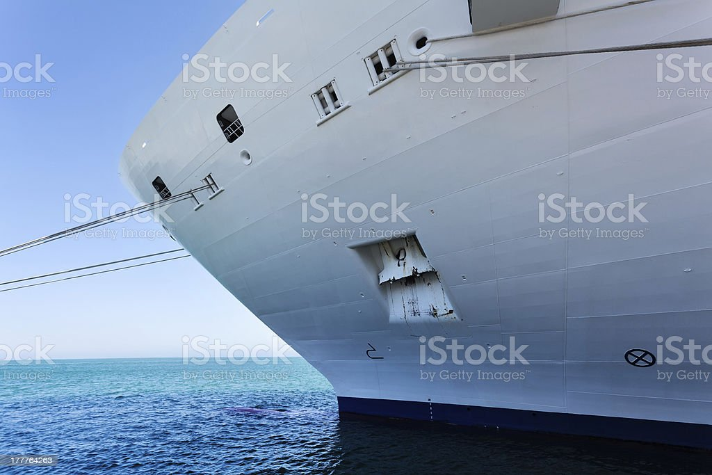 ship bow royalty-free stock photo
