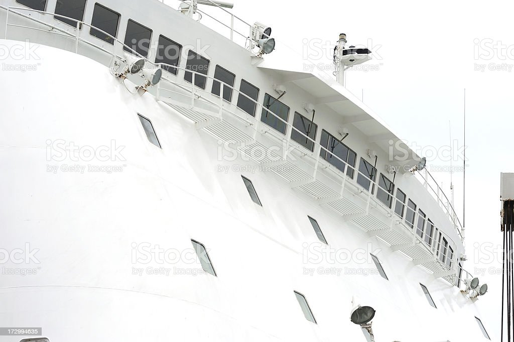 Ship Bridge royalty-free stock photo