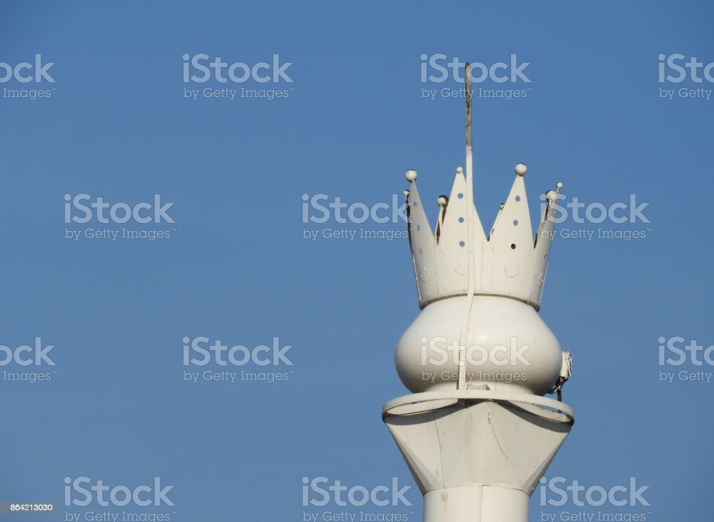 Ship chimney stock photo