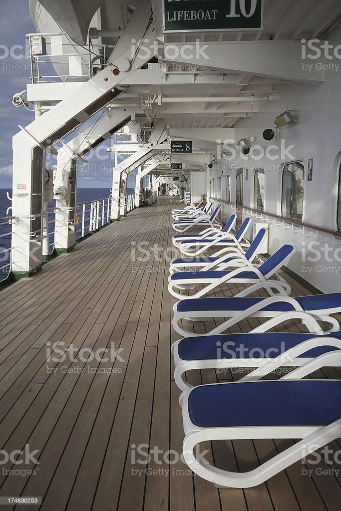 ship deck royalty-free stock photo
