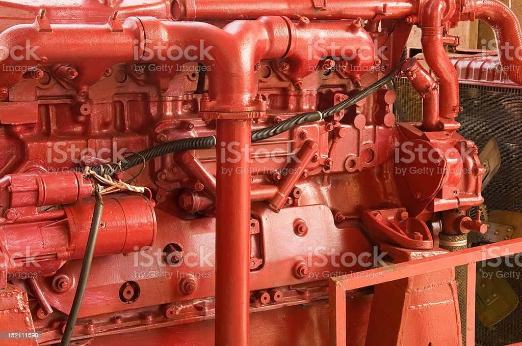 ship engine ,detail. royalty-free stock photo