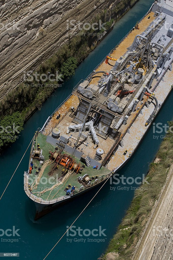 Ship From Above stock photo