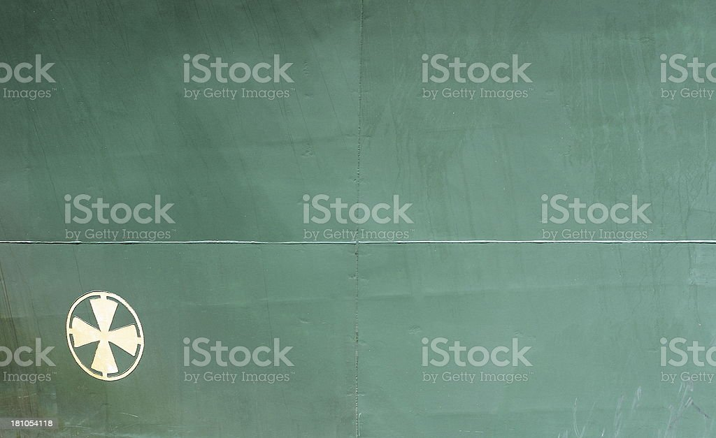 Ship Hull royalty-free stock photo
