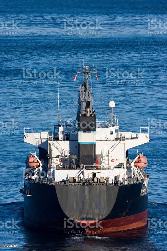 Ship in Motion royalty-free stock photo