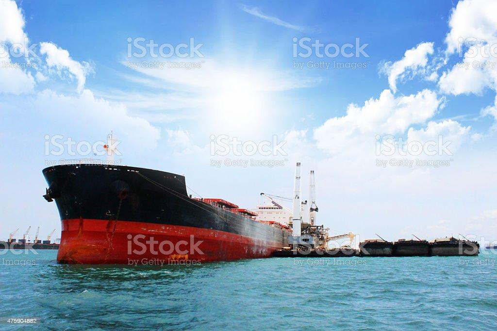 Ship Logistic stock photo
