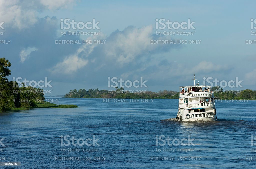 Ship. Manaus. Brazil stock photo