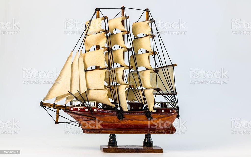 Ship model stock photo
