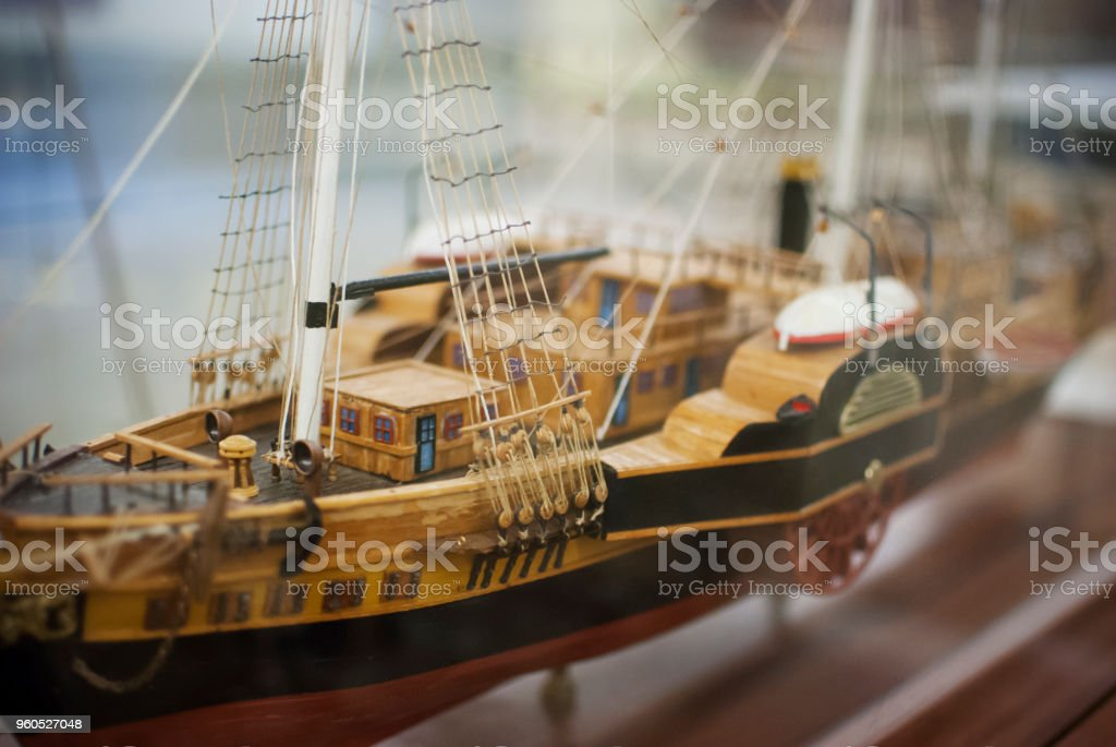 Modelo de navio - foto de acervo