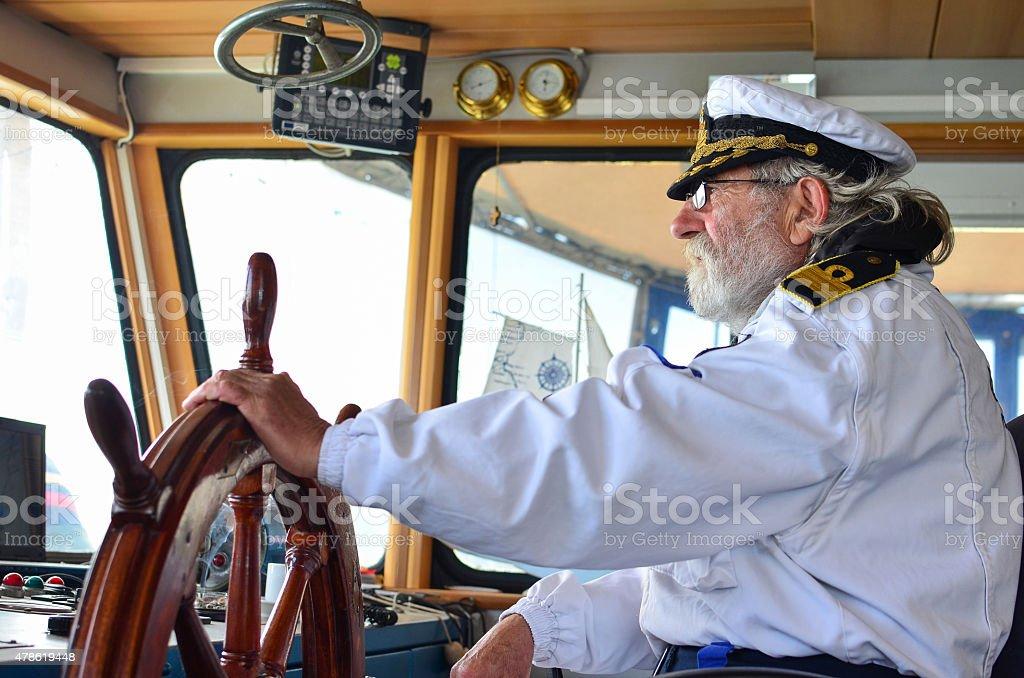 Ship navigation royalty-free stock photo