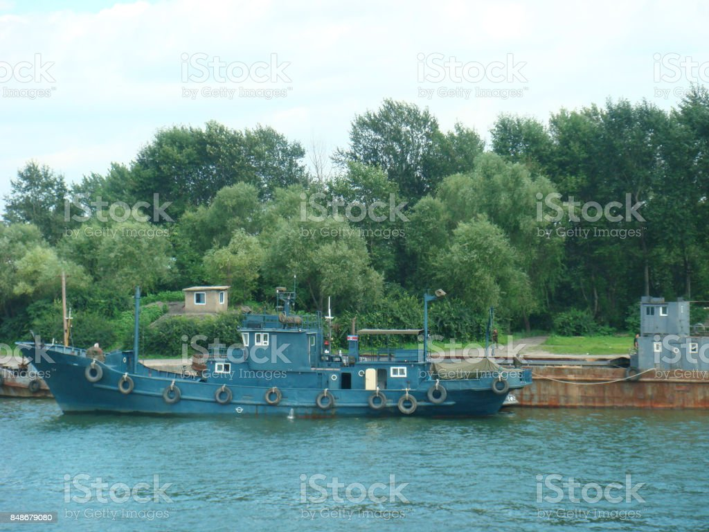 ship, North Korea stock photo