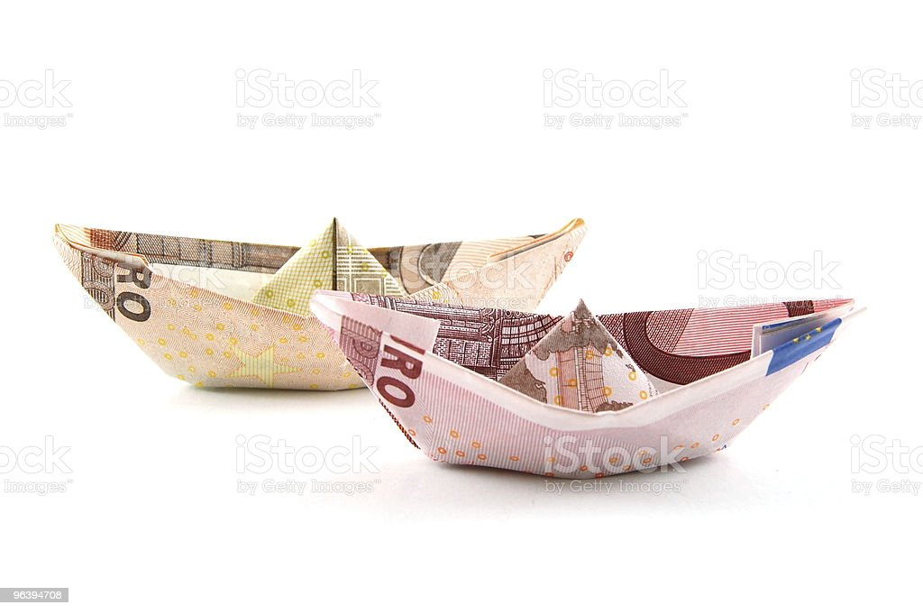 Ship of Money - Royalty-free Business Stock Photo