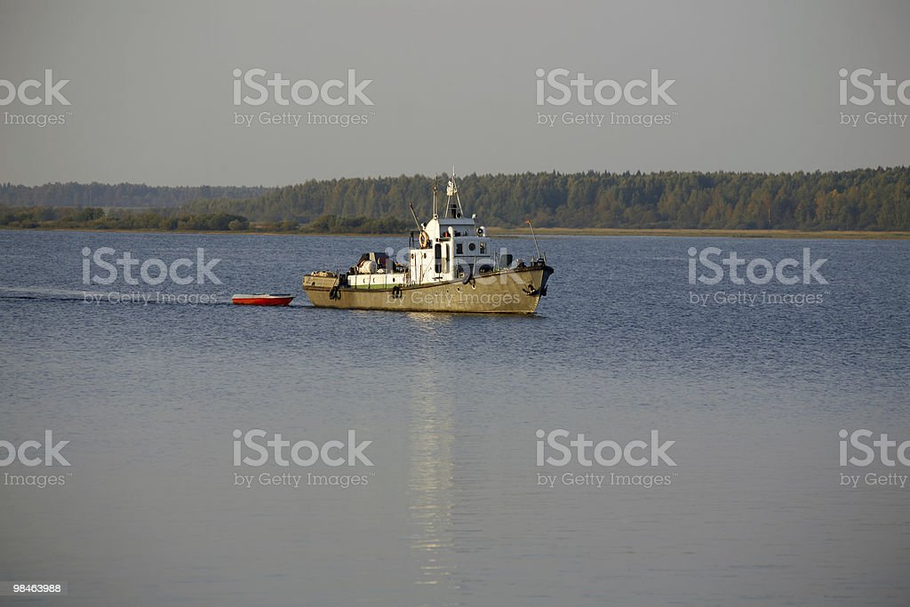 Ship royalty-free stock photo