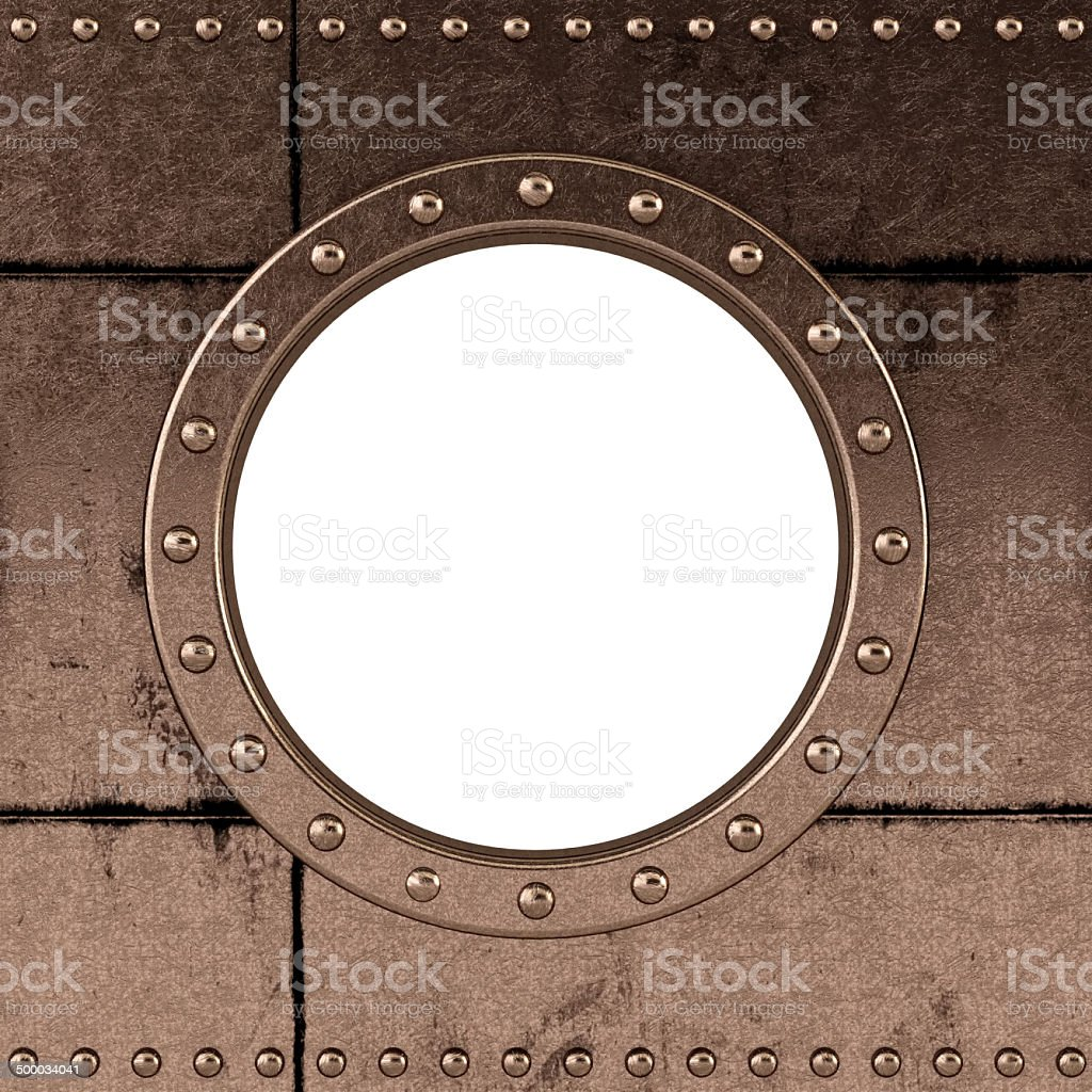 ship porthole stock photo