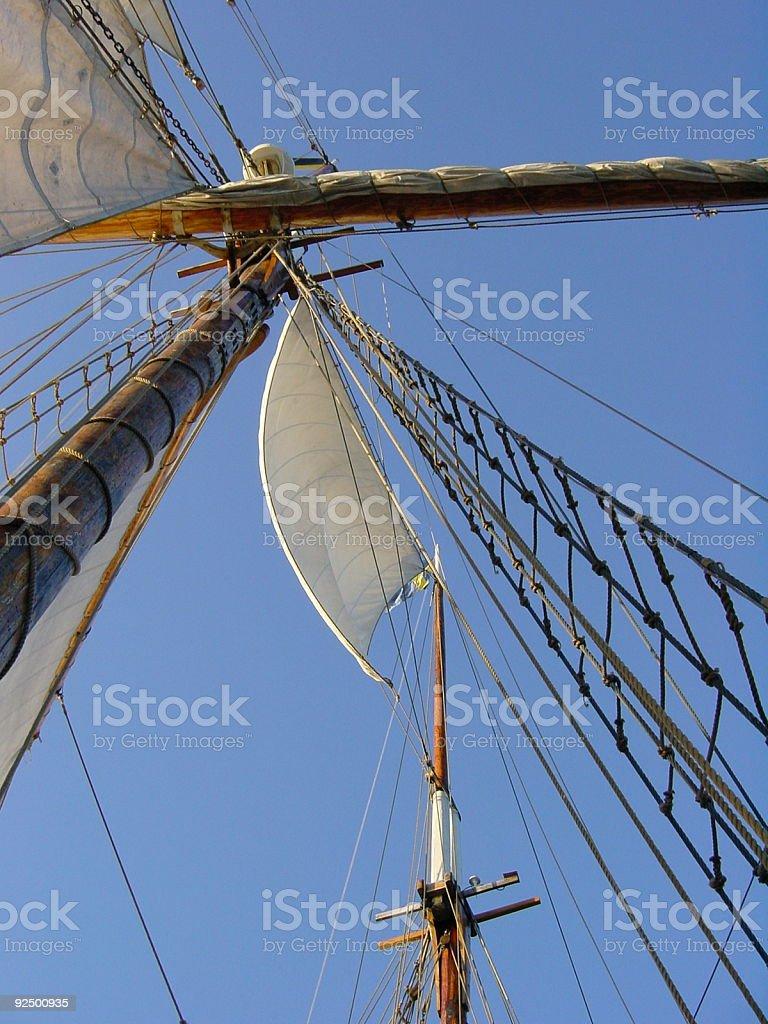 Ship rig 4 royalty-free stock photo