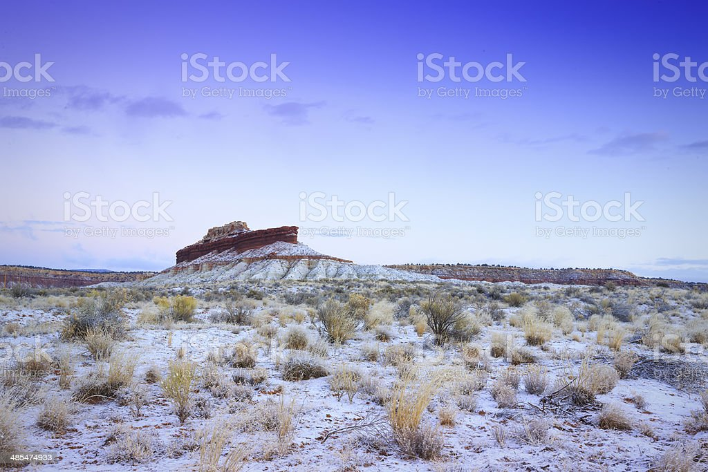 Ship Rock Arizona royalty-free stock photo