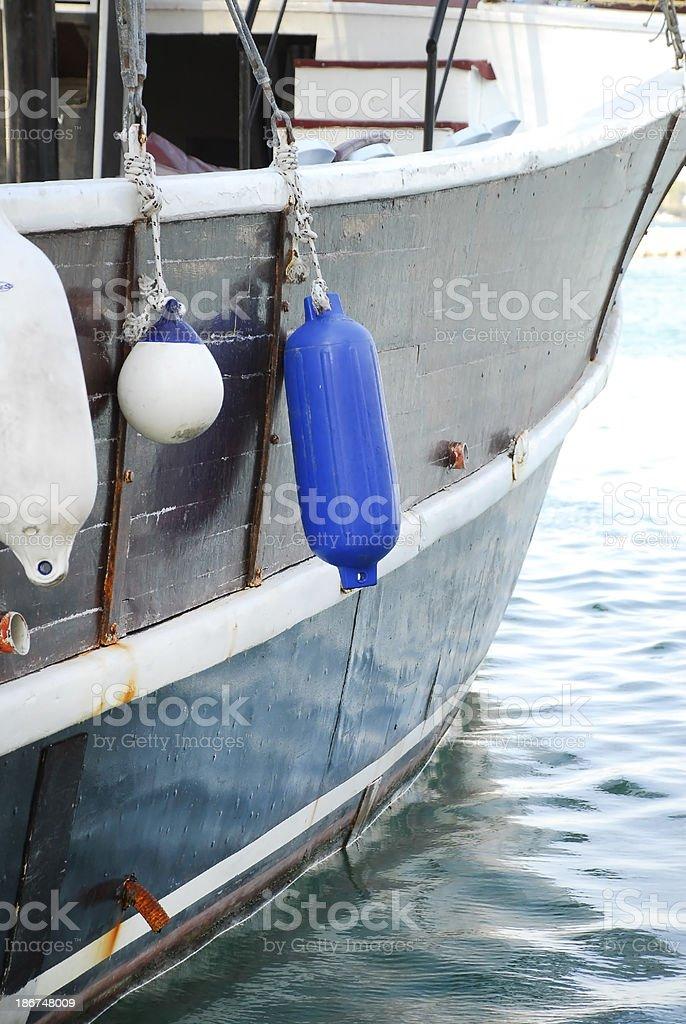 Ship Side royalty-free stock photo