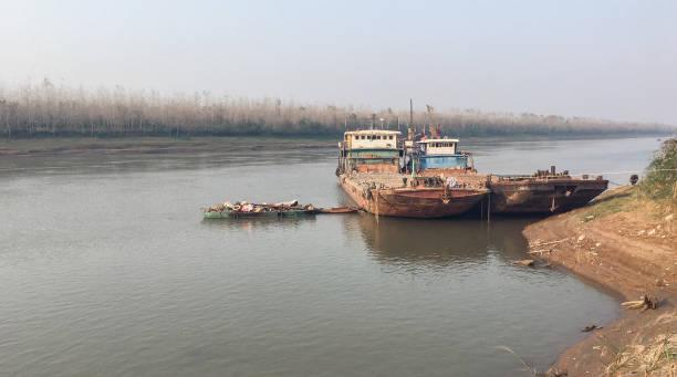 Ship Wreck - le long du fleuve Yangtsé - Photo
