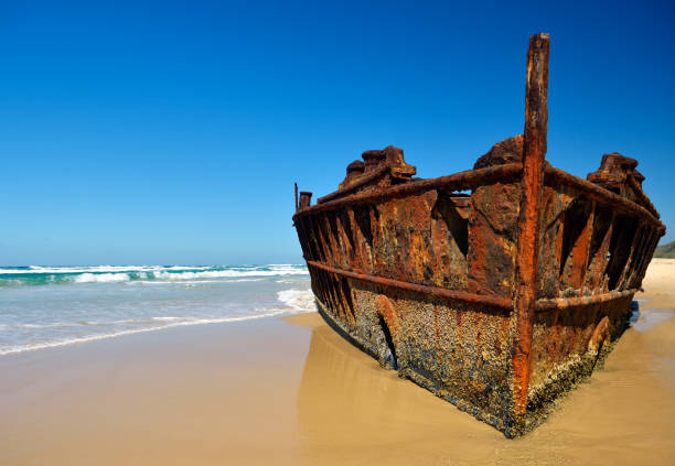 ship wreck - shipwreck stock pictures, royalty-free photos & images